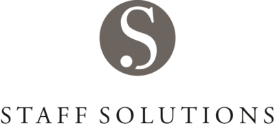 Staff Solutions logo-grau
